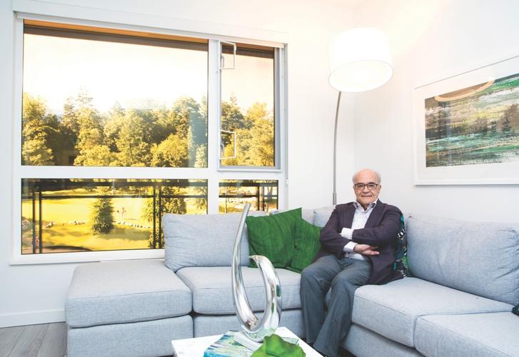 A profile of Mohammed Esfahani, president, Qualex-Landmark Group. Photo: Chung Chow